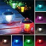 Led Solar Schwimmende Nachtlicht Wasserdicht Ball Multi Farbwechsel Akku Lampe Für Teich Pool Garten Dekoration Farbe 110 * 110 * 110Mm