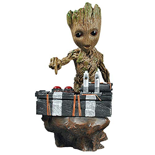 Action Figures Groot Statua per Scena di Bomba, Groot Modello Decorazione Bambola,A