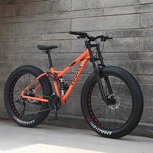 Bicicletas De Montaña Doble Suspensión Completa Para Adultos Acero Al Carbono Alto...