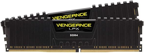 Corsair Vengeance LPX 16GB (2x 8GB) DDR4 3600(PC4-28800) C18 1.35V Desktop Memory -Black