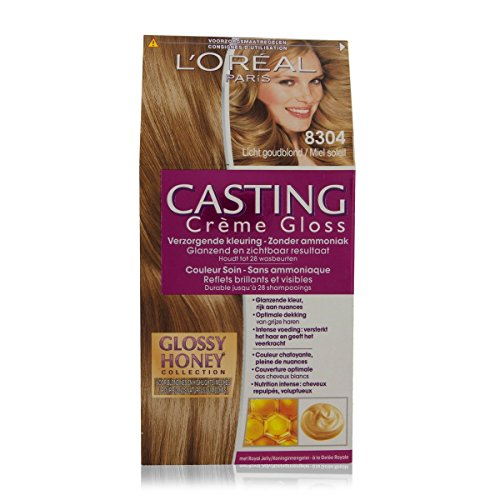 Loreal Casting Creme Gloss 8304 Light Golden Blonde