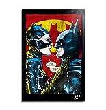Catwoman y Batman de la pelicula Batman Vuelve (Batman Returns, Tim Burton) -...