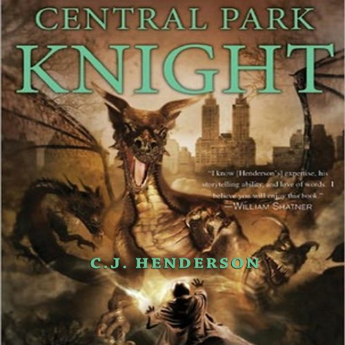 Central Park Knight audiobook cover art