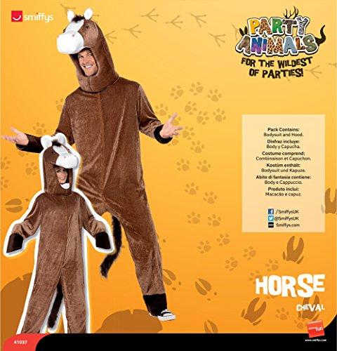 Smiffy's 41037 - Pferd Kostüm mit Bodysuit und Hood