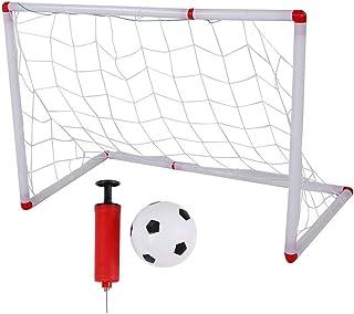 Rockyin Assemble Children Football Goal and Soccer Net Portable Outdoor Sport Kids Training Toy