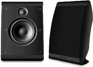 Polk Audio OWM3 Wall and Bookshelf Speakers | The Most High-Performance Versatile..
