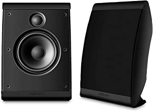 Polk Audio OWM3 Wall and Bookshelf Speakers | The Most High-Performance Versatile..