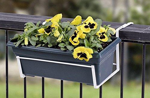 Panacea 89053 Over The Deck Adjustable Flower Box Holder