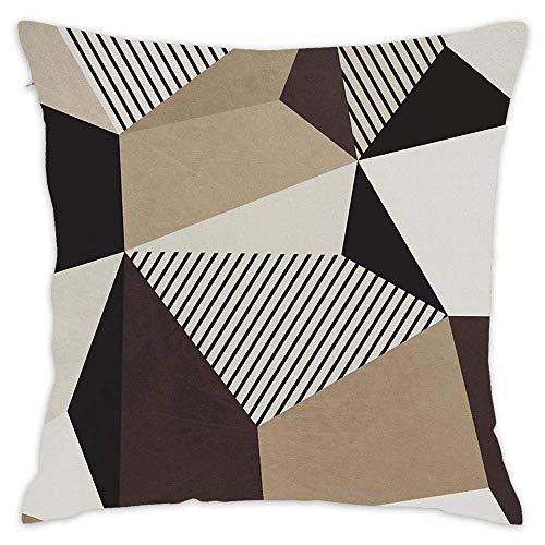 NA Fundas de Almohada Decorativas Fundas de cojín Decorativas Suaves y cuadradas Fundas de Cojines para sofá Sofá - Bauhaus 5