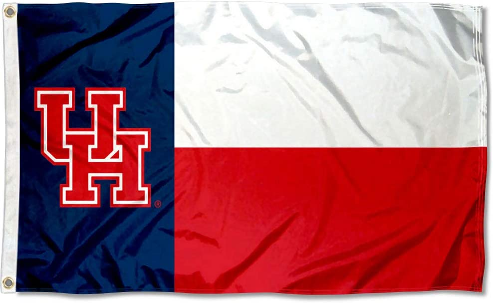 College Flags Banners Co. San Antonio Mall Houston Flag State of Texas Max 89% OFF Cougars