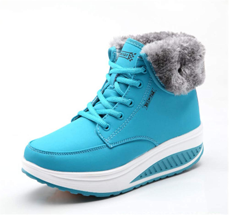 Brilliant sun Women's Snow Boots Warm Winter shoes Anti-Slip Ankle Bootie Outdoor Sneaker