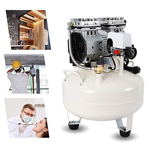 Silent fluistercompressor YUNRUX 30L persluchtcompressor elektrische compressor stil olievrij fluisterend