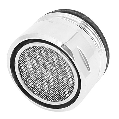 sourcingmap 28 mm-Gewinde silberner Wasserhahnfilterstutzen Luftsprudler-Düse de