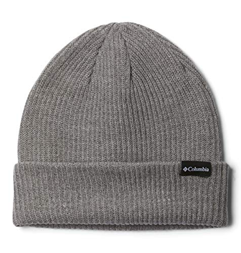 Columbia Men's Lost Lager Beanie, Charcoal Heather, One Size
