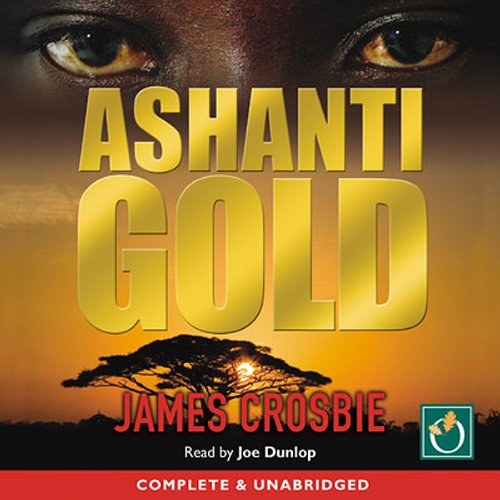 Ashanti Gold audiobook cover art