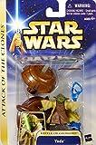 Yoda Battle of Geonosis Attack of the Clones' Hall of Fame - Star Wars Saga Collection 2002-2004 de Hasbro