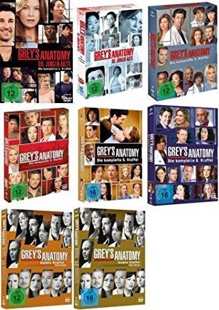 Grey's Anatomy: Die jungen Ärzte - Die komplette 1./2./3./4./5./6./7./8. Staffel [47-DVD / 8-Boxen]