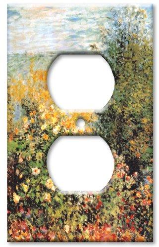 Outlet Cover Switch Plate - Monet: Stiller Winkle