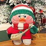 30cm Cartoon Cute LaLafanfan Cafe Duck Plush Toy Stuffed Soft Kawaii White Duck Doll Animal Birthday Gift for Kids Children Girl 37