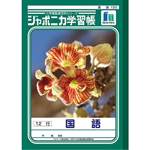 ショウワノート 学習帳 ジャポニカ 国語 12行 B5 5冊パック JL-11-1*5