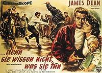 理由なき反抗(1955年)ジェームス・ディーンの映画のポスター [並行輸入品]