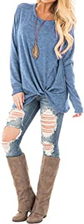 JUDI Women Autumn Winter Casual T-Shirt O-Neck Long Sleeve Solid Color Blouse Comfortable Breathable Bottoming Shirt Tops