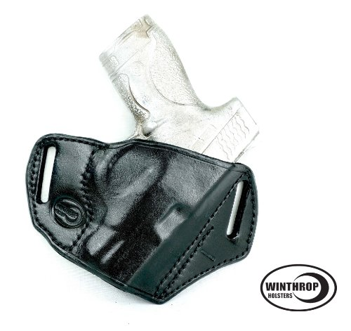 S&W M&P Shield 9 mm NO Laser OWB NO Shield Holster R/H Black - 0174