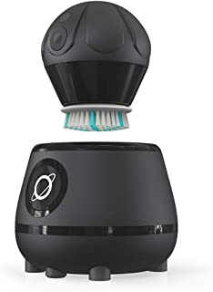Sponsored Ad - Tao Clean Orbital Facial Brush and Cleansing Station – Deep Space Black – Electric Face Cleansing Brush wit...