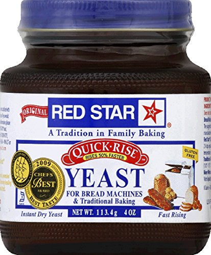 Red Star Quick Rise Yeast 4 Ranking Max 77% OFF TOP6 12 case. -- Ounce per