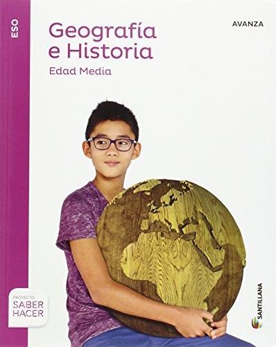 GEOGRAFIA E HISTORIA AVANZA 2 ESO SABER HACER - 9788414103135
