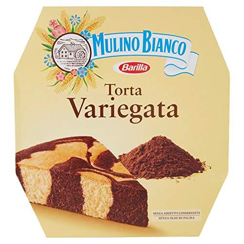 Mulino Bianco Torta Variegata con Cacao, Ottimale per la Merenda - 460g