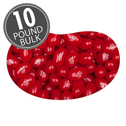 Jelly Belly Very Cherry Jelly Beans - 10 lbs bulk - Genuine, Official, Straight from the Source