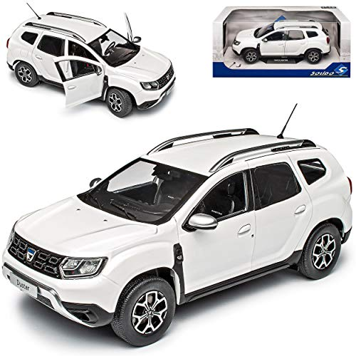 Dacia Duster II Weiss SUV 2. Generation Ab 2018 1/18 Solido Modell Auto
