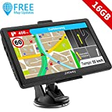 SAT NAV GPS Navigation System, Jimwey 7 Inch 16GB Latest 2019 Maps Car Truck Lorry Satellite...