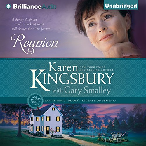 Reunion     Redemption Series, Book 5              By:                                                                                                                                 Karen Kingsbury,                                                                                        Gary Smalley                               Narrated by:                                                                                                                                 Sandra Burr                      Length: 12 hrs and 53 mins     Not rated yet     Overall 0.0
