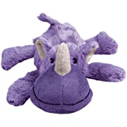 KONG - Cozie Rosie Rhino - Indoor Cuddle Squeaky Plush Dog Toy - For Small Dogs