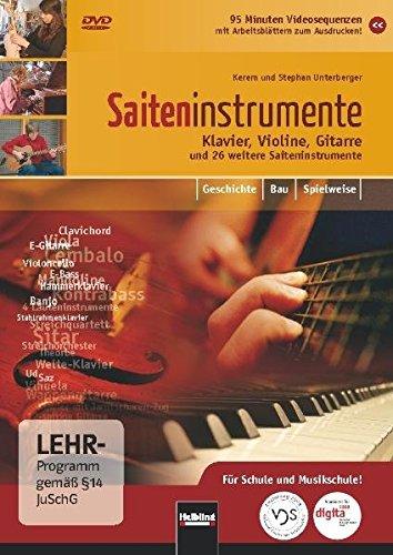 Saiteninstrumente - Klavier, Violine, Gitarre