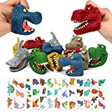 Joinfun Marionetas de Dedo Juguetes de Dedo de Dinosaurio con 12 unids...