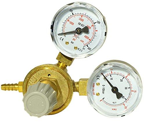 Tecnoweld 82360Druckminderer MIG Doppel Manometer Argon/Co²