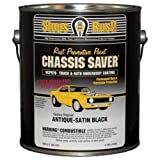 Magnet Paint UCP970-01 Chassis Saver Rust Preventative Paint, Satin Black, 1 Gallon