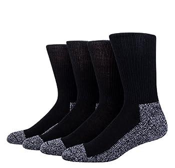 HEAD Power Fusion Moisture Wicking High Socks Black 6-12.5  4 Pairs