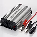 E-LION 600W Power Inverter DC 12V,Output 110V-120V AC Car Inverter with USB Car Adapter