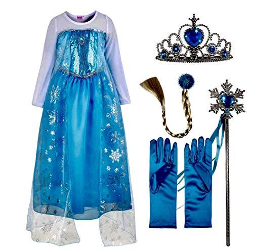 Ice Queen Princess Deluxe Fancy ...