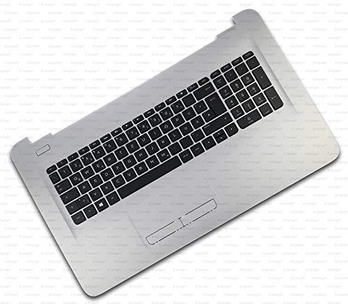 X-Comp Teclado de la serie HP 17-X000 17-X100 17-X500 17-Y000 17T-X000 17T-X100 Pavilion 17Z-Y000 Serie