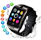 Smartwatch Sports Watch with Step Counter Sleep Analysis 1.54 Inch Touchscreen Camera SMS Facebook Vibration Compatible Smartwatch Mobile Phone for Android ios