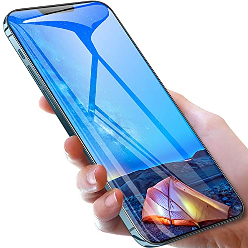 HUALUDA Unlocked Android Smartphone i12Pro Max Cell Phones, 6.7-inch HD Screen Mobile Phones, 5-Point Touch Screen, Face Unlock, Intelligent Wake-up (Color : Sea Blue, Size : 8+256G)