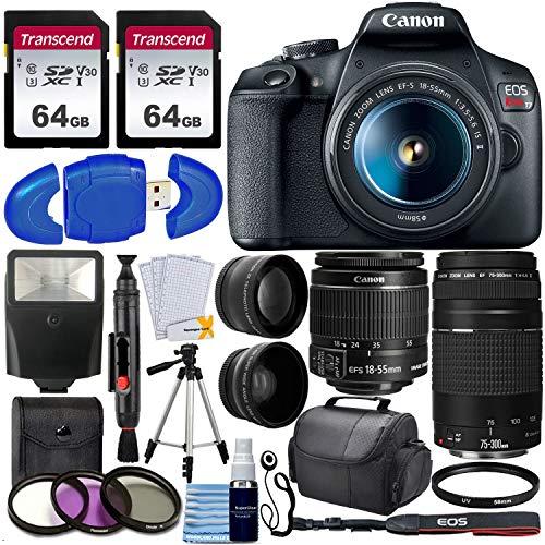 Canon EOS Rebel T7 DSLR Camera + EF-S ...