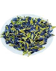 50 g/zak blauwe vlinder bloem thee gedroogde erwten bloem 100% natuurlijke eetbare vruchtenthee paars blauw bakken natuurlijke kleurstof