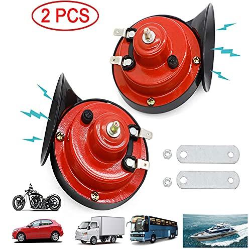 WIKIBB 300DB Train Horn for Truck,Car Air Electric Snail Horn,12V Waterproof...