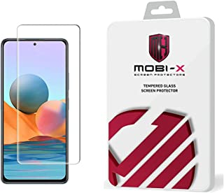 Redmi note 10 5g Tempered Glass screen Protector - Clear By Mobi X